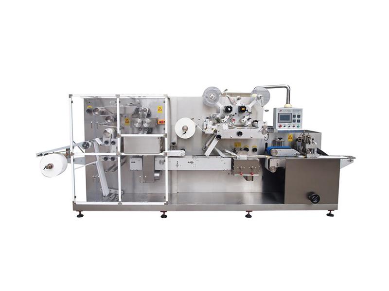 消毒湿巾包装机 胜龙机械往复式折叠包装机