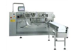 水平式给袋包装机 全自动双给袋式水平包装机SL-MB200G