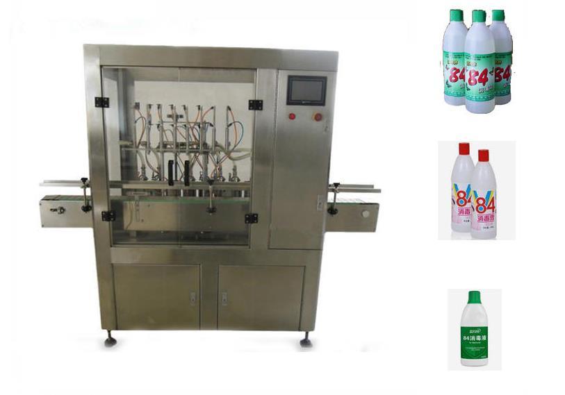 84消毒液灌装机 酒精灌装机 胜龙机械消毒剂灌装机