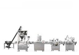 粉剂易拉罐封罐机生产线
