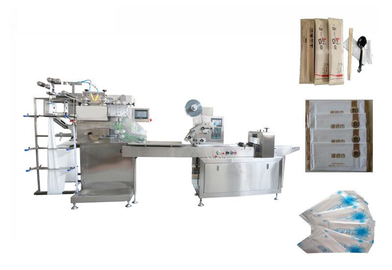自动包装机 大连胜龙牌自动包装机 纸巾自动包装机
