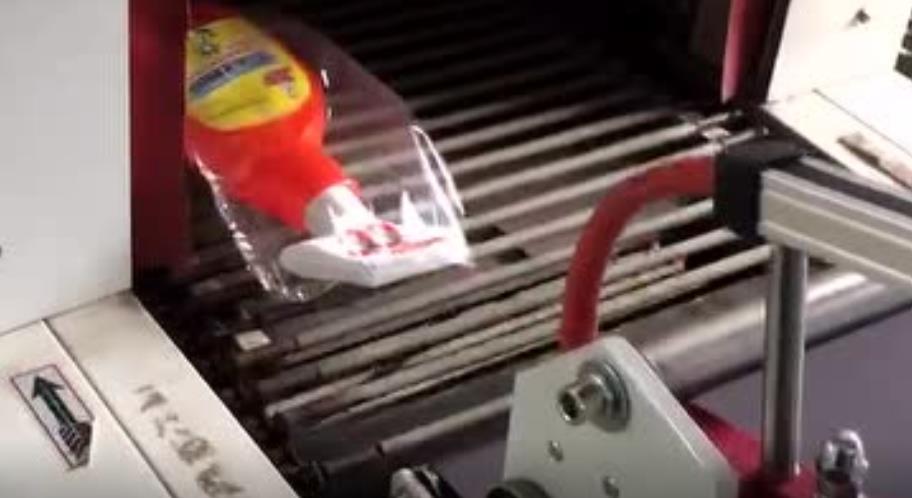 喷雾剂包装薄膜包装收缩机