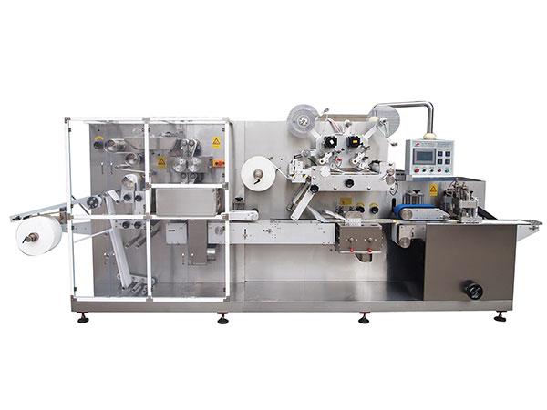 SL-1300B 全自动往复式湿巾折叠包装机