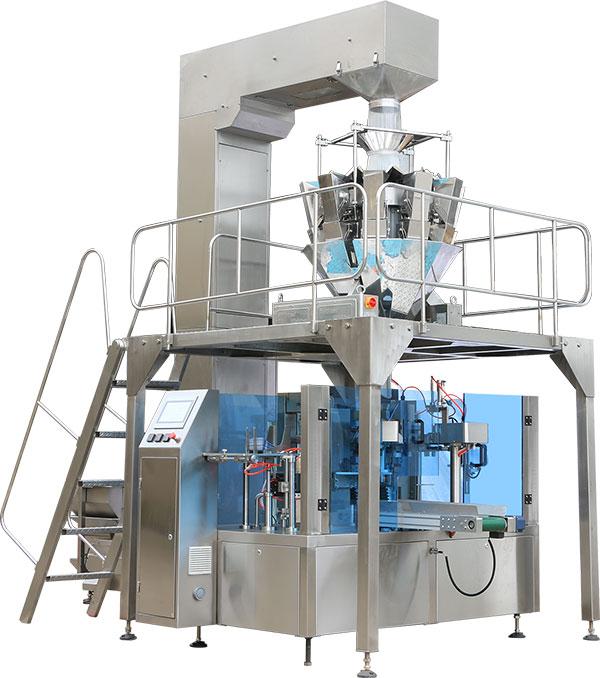 玉米棒给袋式真空包装机是如何完成机械与自动化的